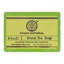 Мыло Кхади Зеленый чай, 125 г